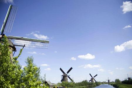 Kinderdijk molens windmills